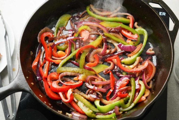 Fajita Veggies Recipe (Ready in 10 Minutes!)
