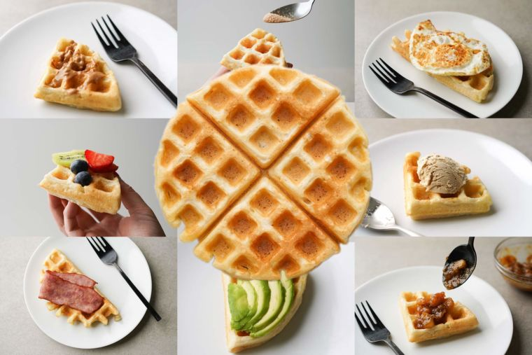 26 Sweet and Savory Waffle Toppings