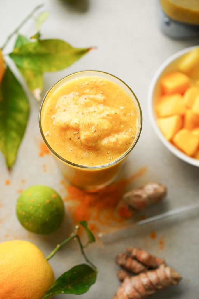 anti inflammatory turmeric ginger smoothie