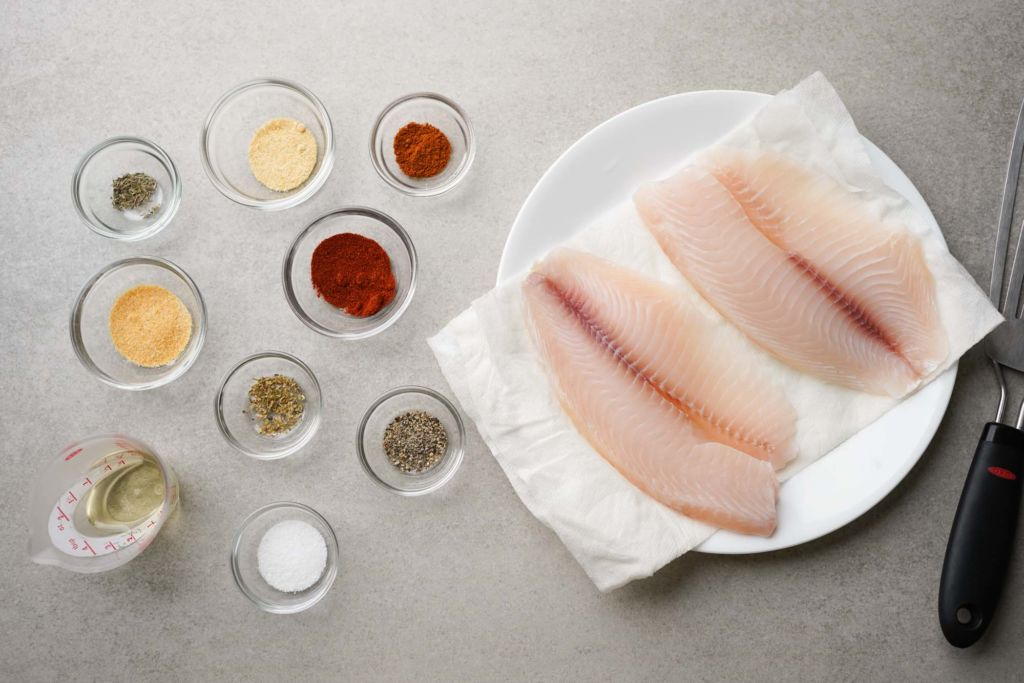 blackened fish ingredients