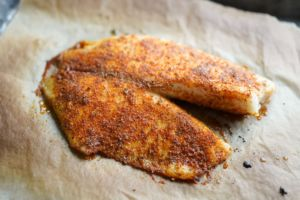 oven broiled blackened fish