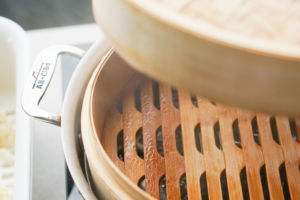 steamy bamboo steamer
